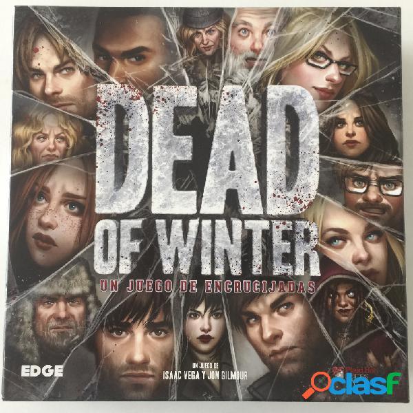 Dead of winter un juego de encrucijadas - segunda mano