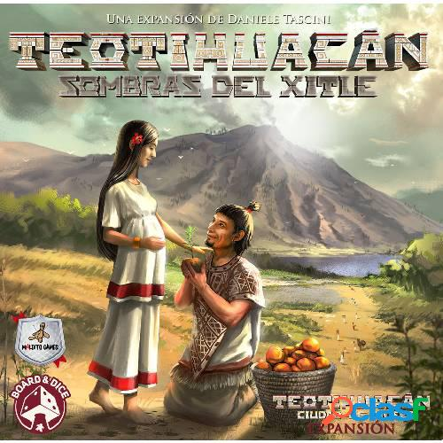 Teotihuacan - sombras del xitle