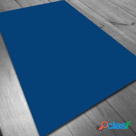 Tapete de neopreno - azul liso 140 x 80