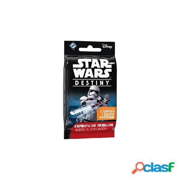 Star wars destiny - espíritu de rebelión sobres de ampliación