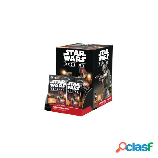 Star wars destiny - el imperio en guerra expositor de sobres de ampliación (36)
