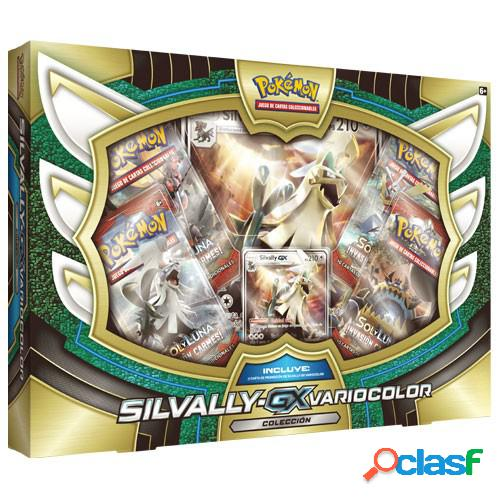 Pokemon jcc - caja colección silvally gx variocolor