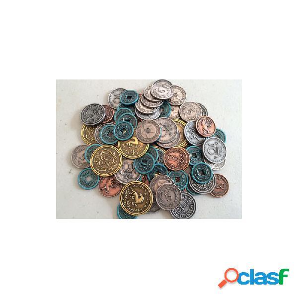 Scythe - set de monedas metalicas (80 un.)