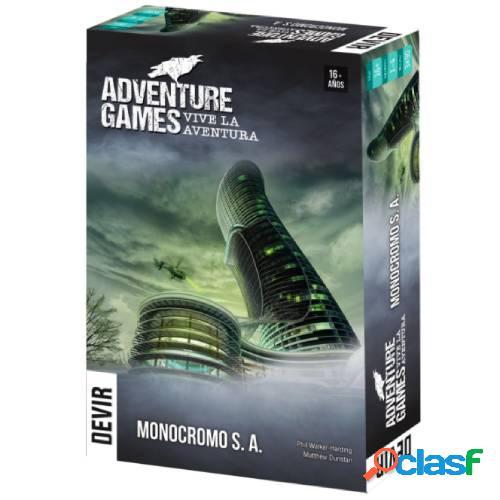 Adventure games - monocromo s. a.
