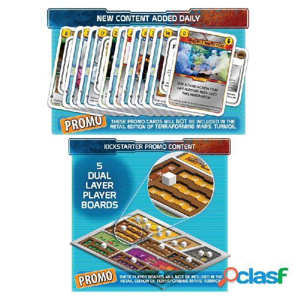 Terraforming mars - tablero de jugador + ks promo pack
