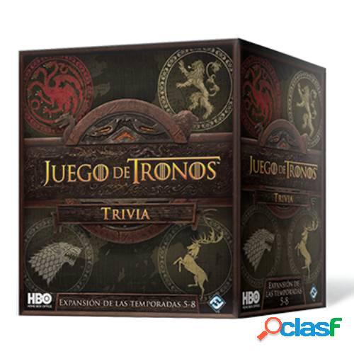 Expansión de las temporadas 5-8 - juego de tronos trivia