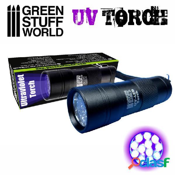 Linterna de luz ultravioleta / ultraviolet torch