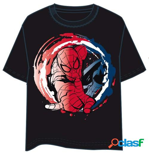 Camiseta spiderman red and blue (l)
