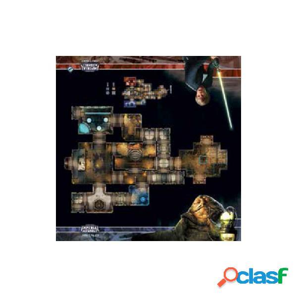 Star wars imperial assault - tablero de escaramuza del palacio de jabba