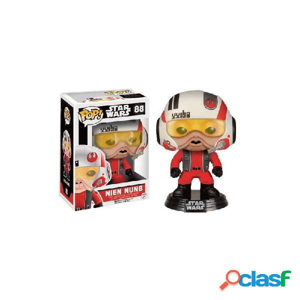 Figura pop star wars - nien nunb con casco
