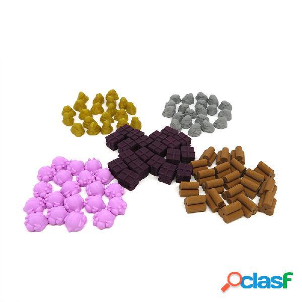 Tokens de recursos para cooper island - 100 piezas