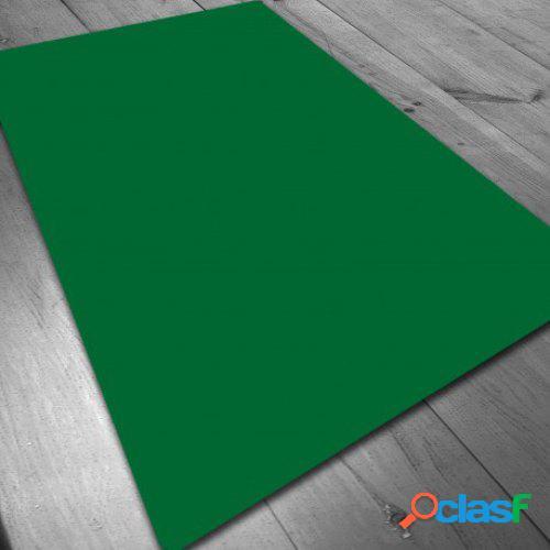 Tapete de neopreno - verde liso 140 x 80