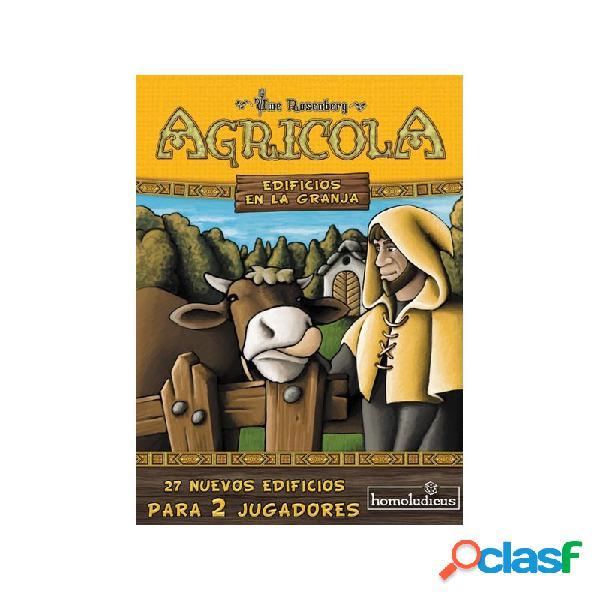 Agricola 2 jugadores - animales en la granja