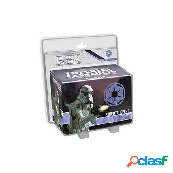 Star wars imperial assault - stormtroopers villain pack (inglés)