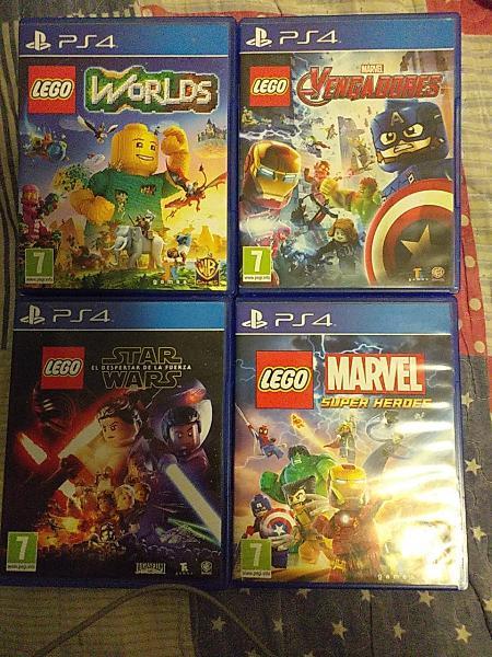 4 lego juegos ps4