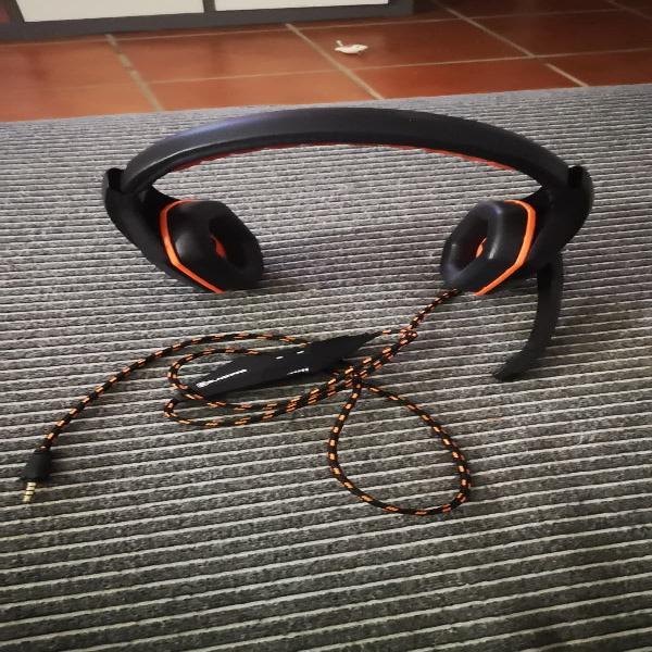 Auriculares con micro y mando