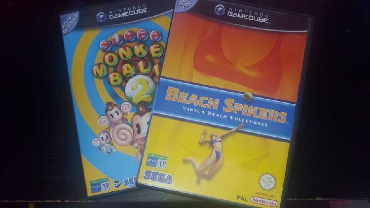 Beach spikers & super monkey ball 2