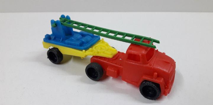 Camion trailer bomberos. marca vam - zaragoza. juguete