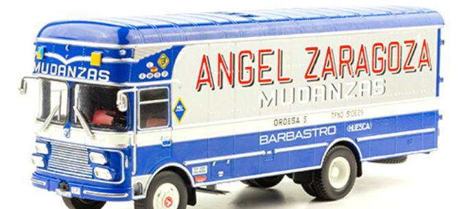 Camion clasico pegaso 1095 ldr capitone - mudanzas angel