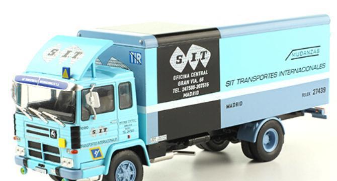 Camion mudanzas pegaso 1080l (1972)- s.i.t / sit transportes