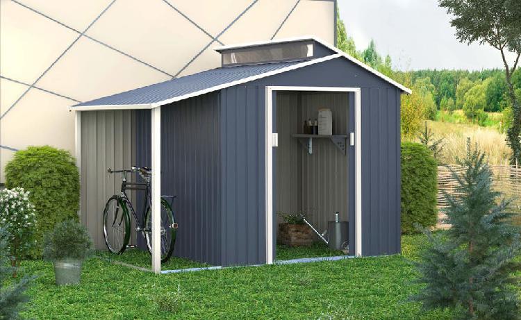 Caseta metálica de exterior 6,85 m² chollo!!!