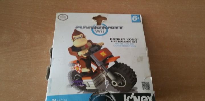 Donkey kong mario kart wii nintendo k nex k'nex nueva