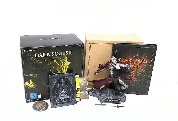 Extras edición coleccionista dark souls 3 / pc