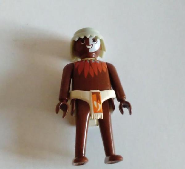 Hombre tribu masai canibal playmobil africa