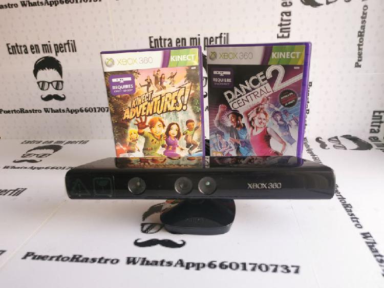Kinect xbox 360 + 2 juegos