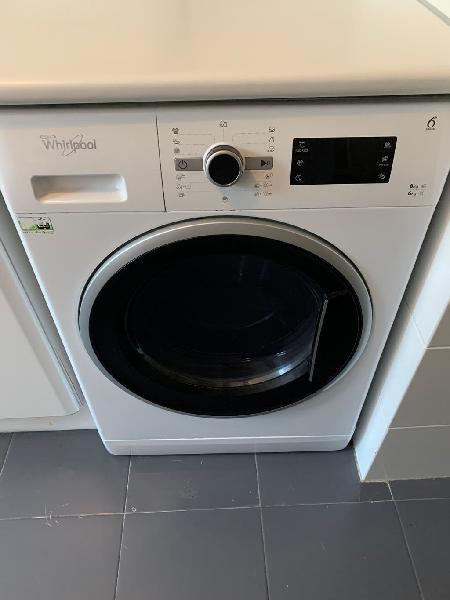 Lavadora secadora 8kg whirlpool