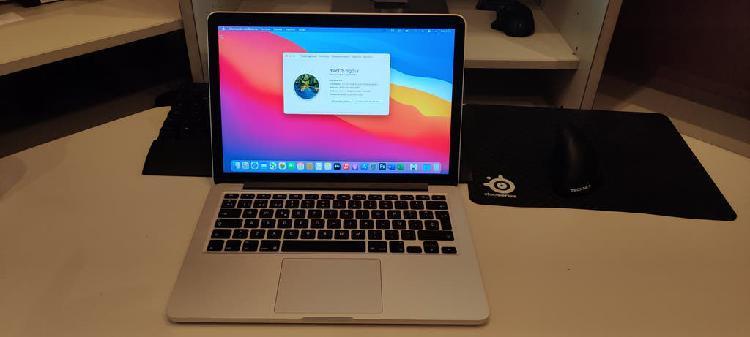 Macbook pro 13 retina corei5,8gb,ssd 128gb