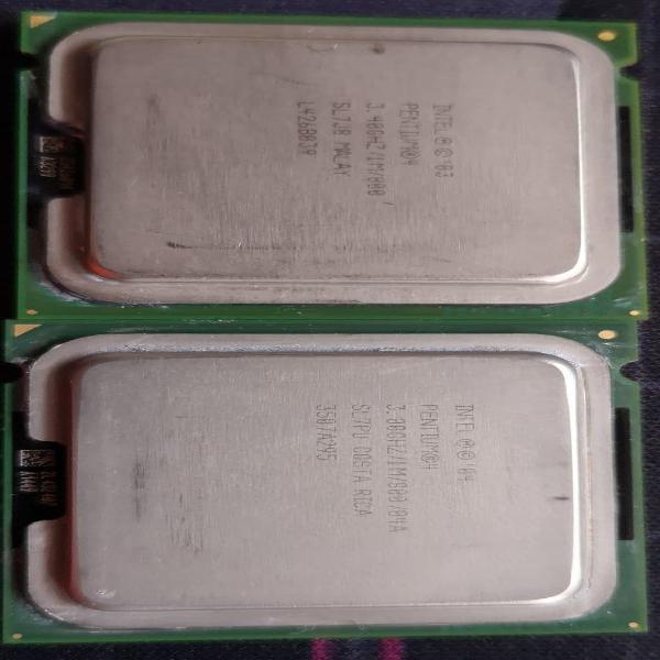 Pentium 4. pack de 2.