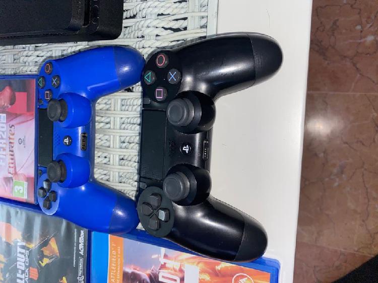 Play 4 juegos con dos mandos