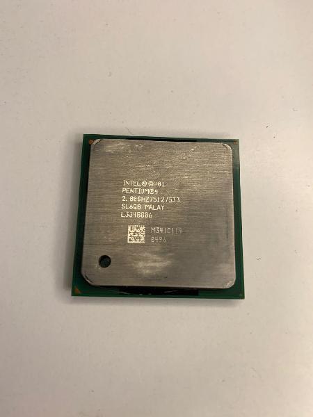 Procesador intel pentium 4 a 2.8 ghz + ventilador