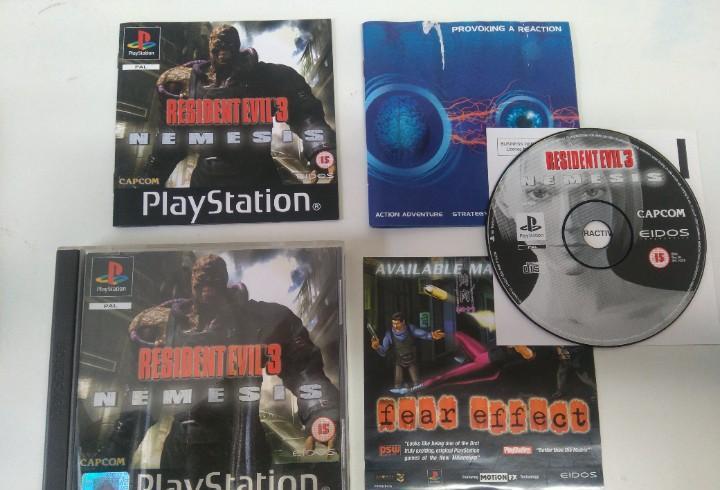 Resident evil 3 ps1 ps2 ps3 mire mis otros juegos nintendo
