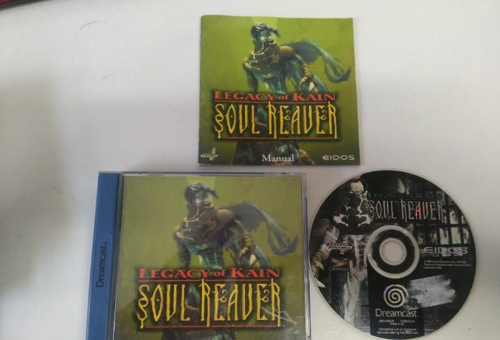 Soul reaver dreamcast mire mis otros juegos nintendo sony