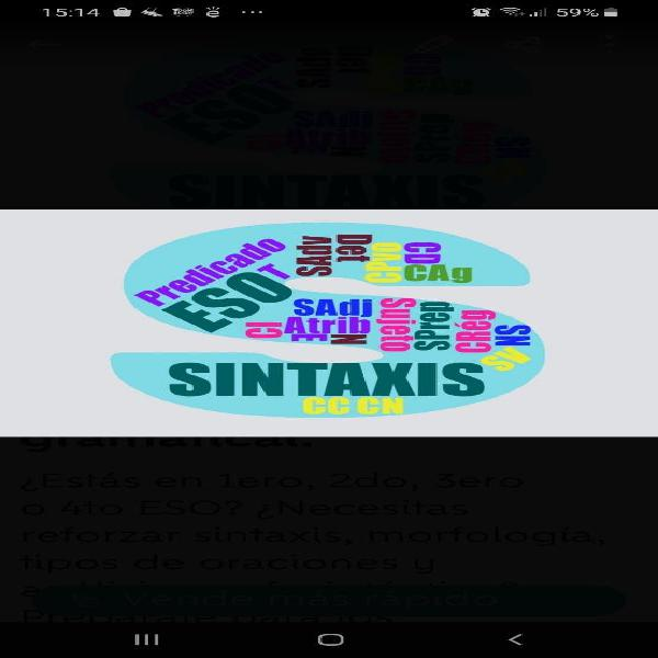 Sintaxis on line