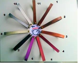 Tiradores para brompton diversos colores