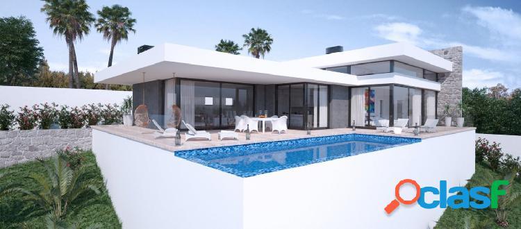 Proyecto - villa de estilo moderno con bonitas vistas al mar