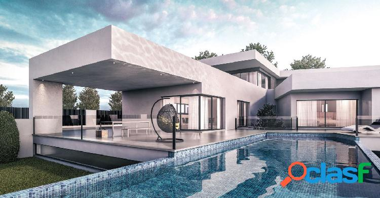 Proyecto - preciosa villa de estilo moderno con vistas al mar