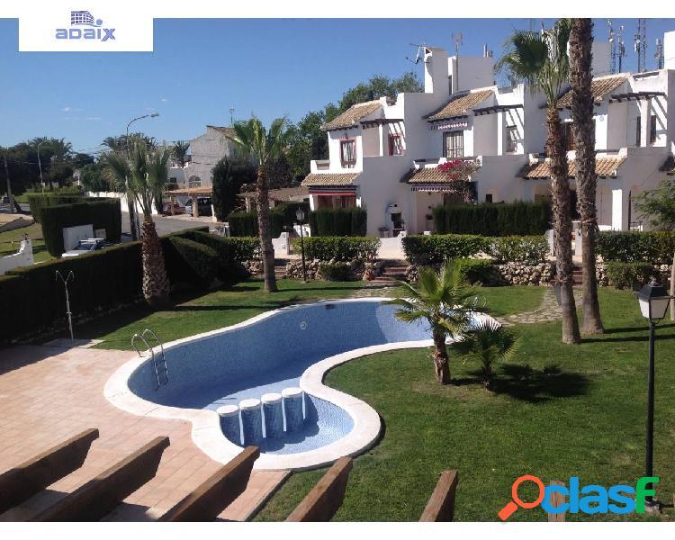 Fantástico bungalow en Villacosta con grandísimo solarium y vistas al mar 1