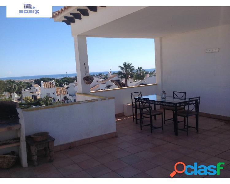 Fantástico bungalow en Villacosta con grandísimo solarium y vistas al mar 2