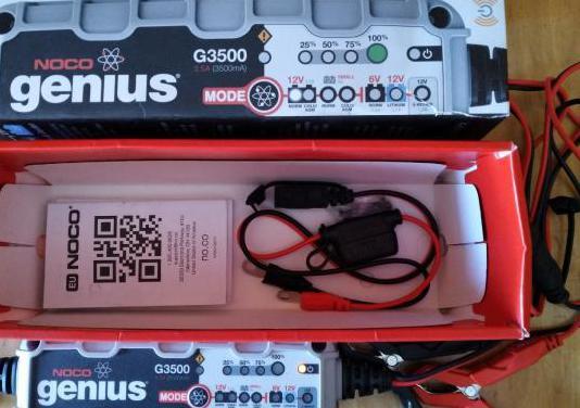 Cargador inteligente noco de baterías