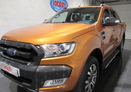 Ford ranger 3.2 tdci 147kw 4x4 dob cab wildtrack s