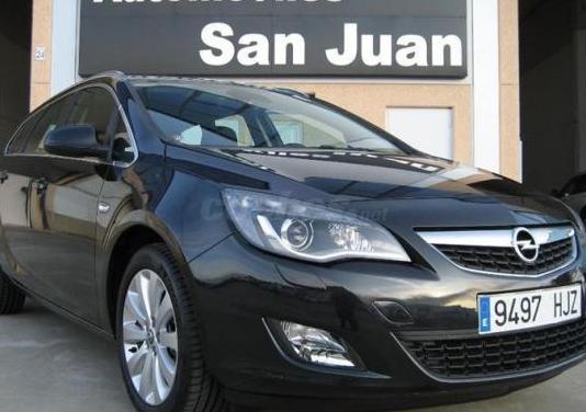 Opel astra 1.4 turbo sportive st 5p.