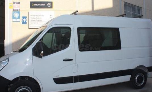 Opel movano 2.3 cdti 96kw 130cv l2 h2 f 3.5t dc