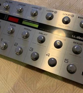 Procesador guitarratc electronic g system