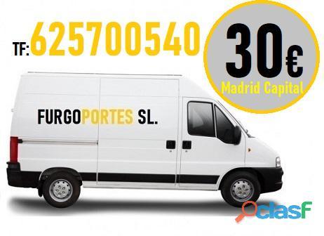 30€ (625700 540) Portes Baratos Ciudad Lineal