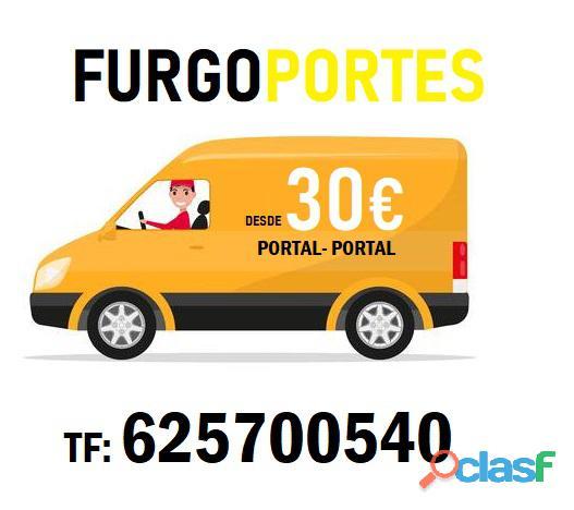 Portes barratos chamberi= 625700540 mudanza barata