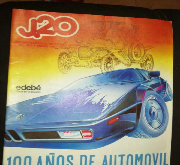 Año 1986,revista j. 20,premio nacional prensa juvenil, 100